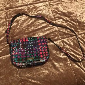 Kate Spade crossbody purse. Multi-colored design.